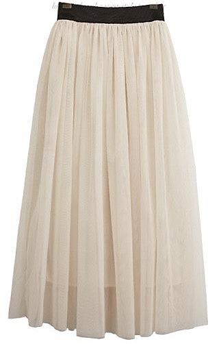 17ecdc4caa4 Расклешенная юбка с эластичным поясом. модные модели длинных maxi ...