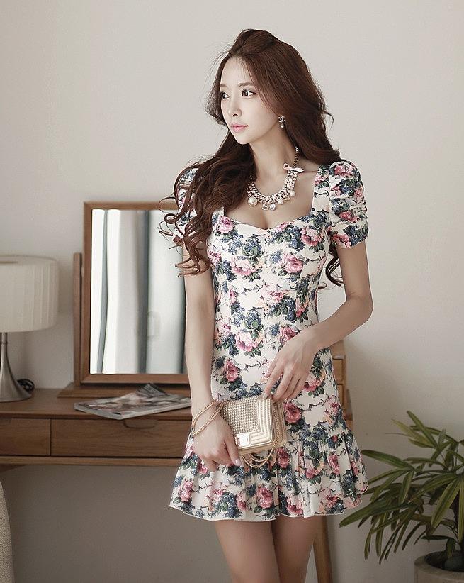 5a56bff5d80 Платье с цветочным принтом купить недорого