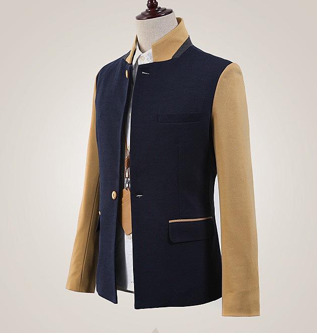 приталенный мужской пиджак фото