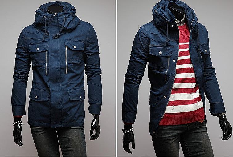 79aa4ecfb23 Модная длинная мужская куртка. качественные мужские куртки по ...