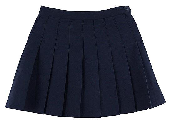 Купить юбку в складку с шортами