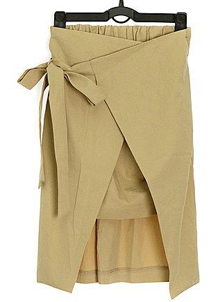 Оригинальная прямая юбка