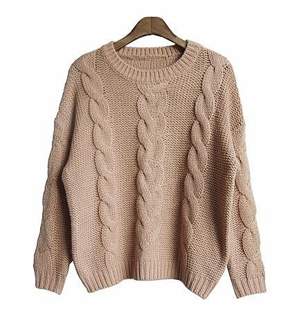 женский вязаный свитер по цене 4060 рублей купить женский свитер в