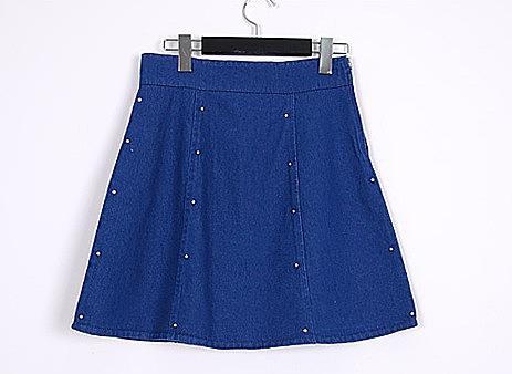 Как сшить классическую юбку из джинсовой ткани