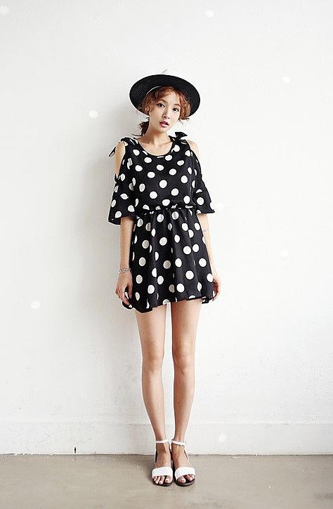 Легкое летнее платье короткое 157
