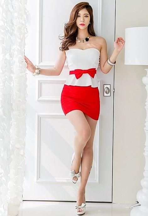5b70301288b Двухцветное платье