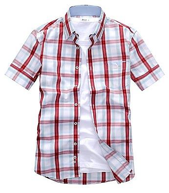 421672578dc677e Практичная и лёгкая мужская рубашка с коротким всегда станет ...