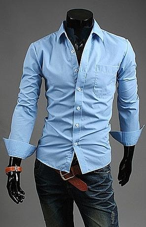 81443fe9ce2b5ae Рубашка с белым воротником и карманом в онлайн каталоге ...