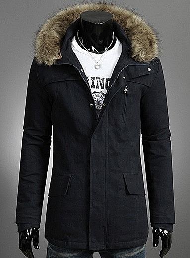 54ad5320461 Куртка с большим капюшоном и мехом купить с доставкой. цена  6860 ...