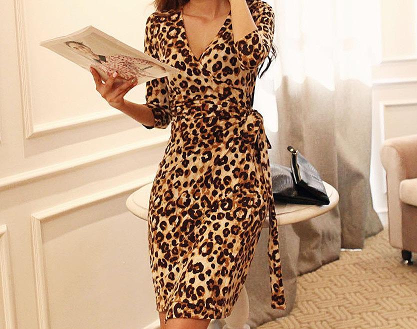 Платья Купить Леопардовые