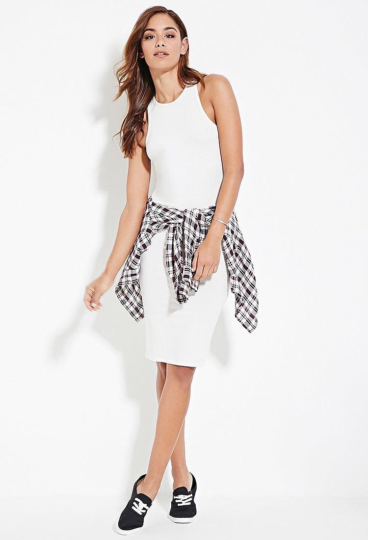 43535e5ca388 Облегающее белое платье купить в интернет магазине одежды, купить ...