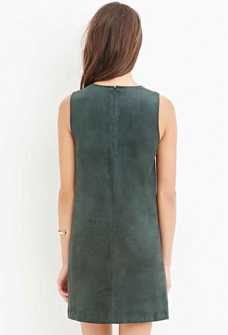 Купить Платье Из Искусственной Замши