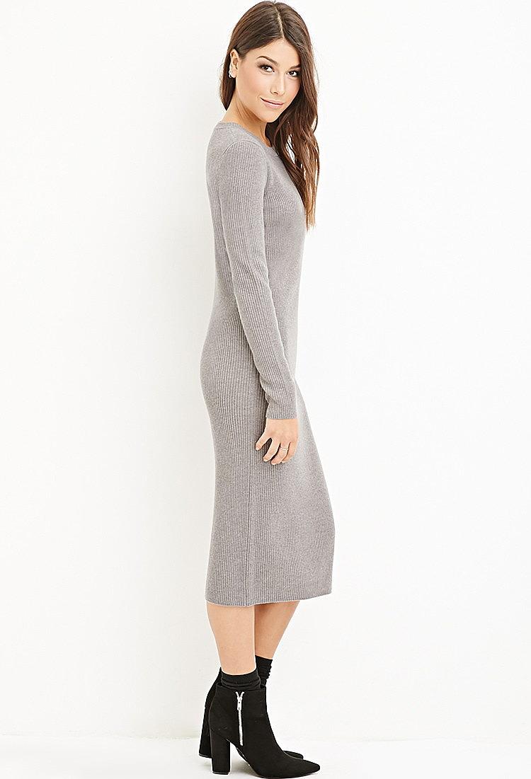 Платье Миди Вязаное Купить