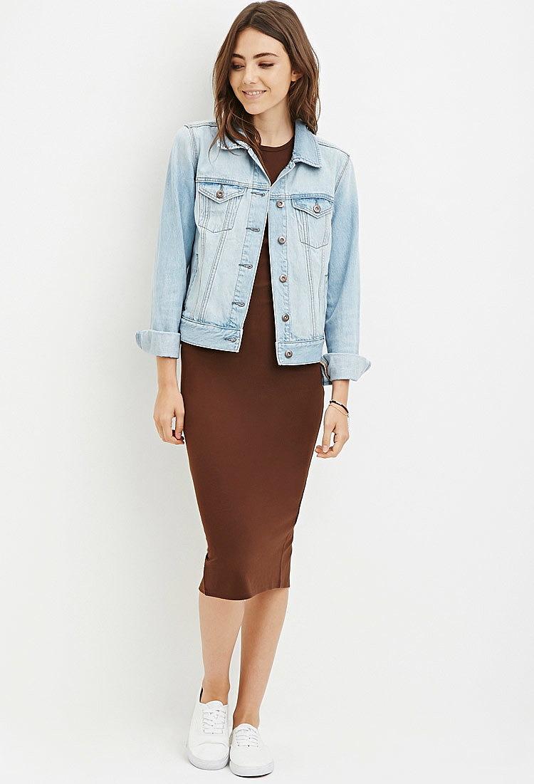 528027695f7 Платье-футляр со спортивным верхом купить в интернет магазине одежды ...