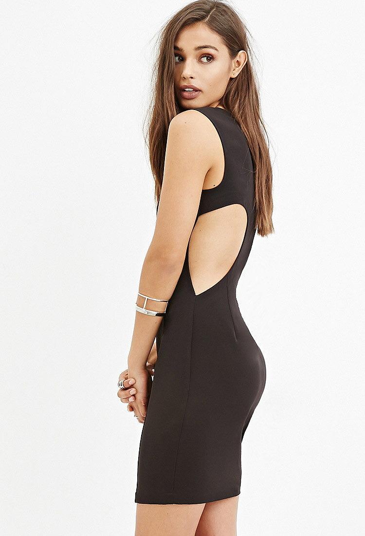 6ad4a38d869 Платье-футляр с вырезом на спине купить недорого