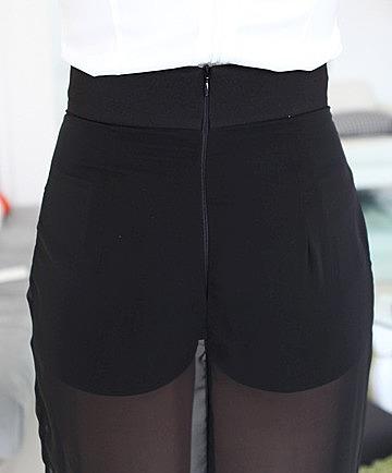 Мини юбка с разрезом фото