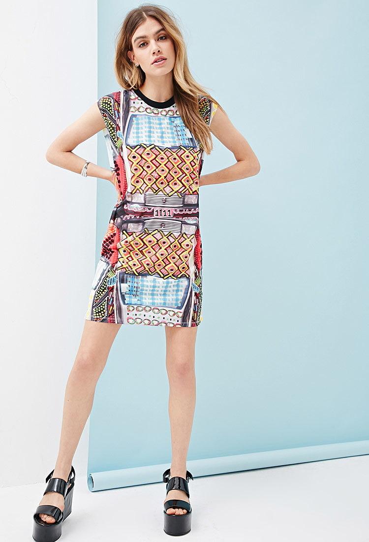 1a20f62b9bd Платье с принтом - новая модель летнего платья по низкой цене ...