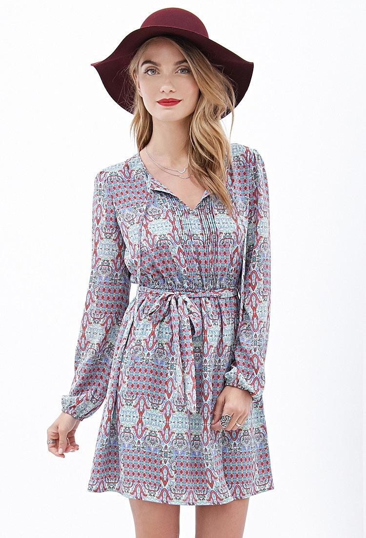 20d0f786d0a Современное платье с витражным принтом - новая модель летнего платья ...