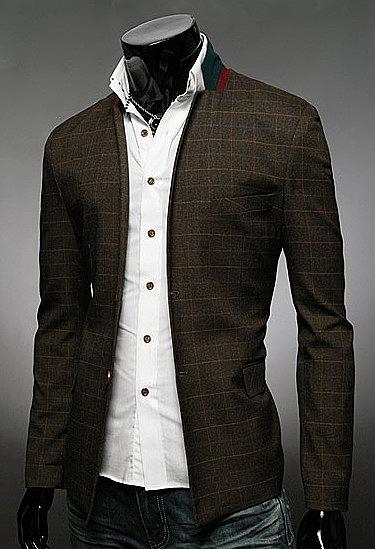 6dec60a7b4e Мужской стильный клетчатый пиджак. стильные пиджаки для уверенных ...