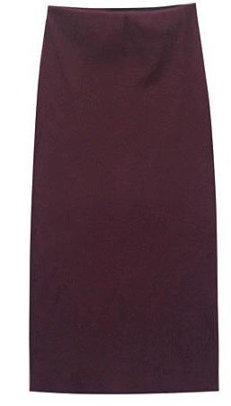 02841ad6549 Прямая юбка с эластичным поясом. модные модели длинных maxi юбок по ...