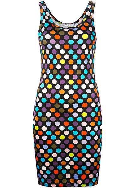 6a11ca8b0df Горох на ярком поле. Прекрасным летним вариантом будет цветное платье в  горошек на несколько тонов темнее основного цвета или контрастный.