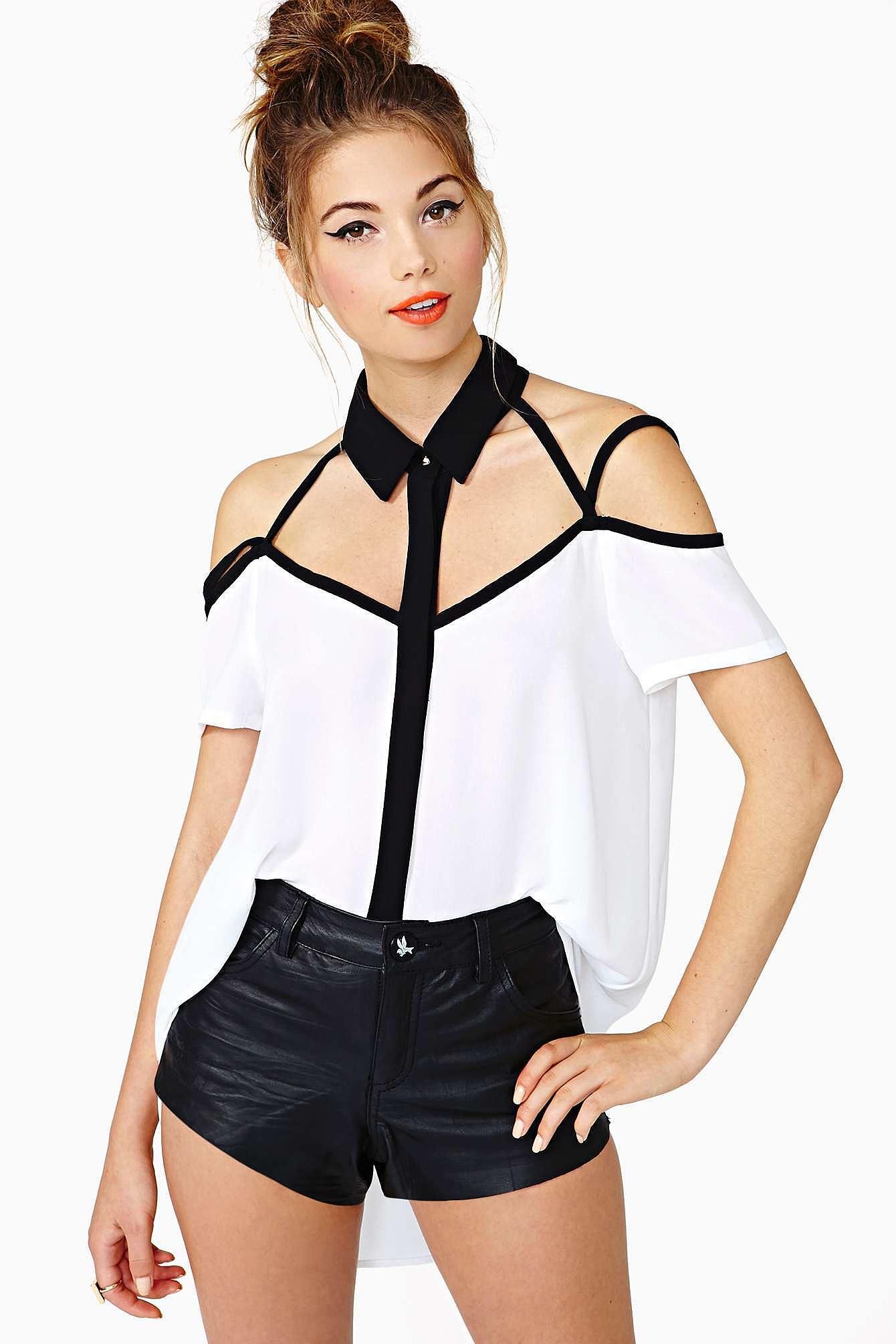Секс белая блузка 22 фотография
